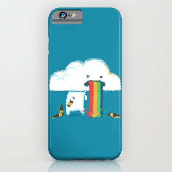 Binge Drinking and Colorful Rainbow iPhone & iPod Case