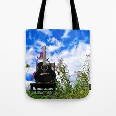 Playing the Field Tote Bag