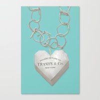 Trashy & Co. Canvas Print