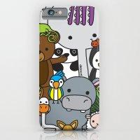 Zoe animals iPhone 6 Slim Case