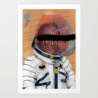 Spaceman No:2 Art Print