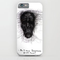 Scribble Face iPhone 6s Slim Case
