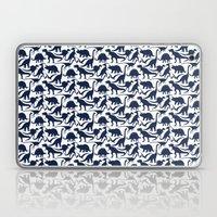 Little Dinosaur Friends - indigo Laptop & iPad Skin