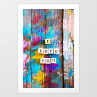 Only Love 5 Art Print