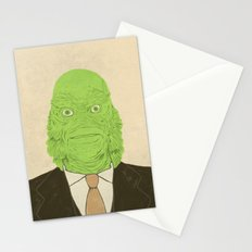 Young Professional from the Black Lagoon Stationery Cards