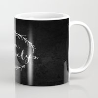 Be You Bravely // White … Mug