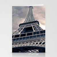 Towering Eiffel Tower Stationery Cards