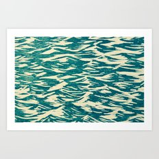Lake Water Art Print