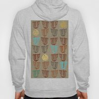 Pods and Seeds 2 on Linen Hoody