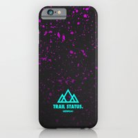 iPhone & iPod Case featuring Trail Status / Grey by MSTRPLN®