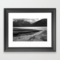 Eklutna Lake II Framed Art Print