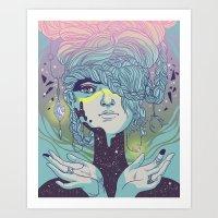 Braided Reality Check Art Print