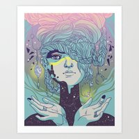 Braided Reality Check Art Print