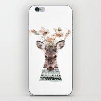 in nature deer iPhone & iPod Skin