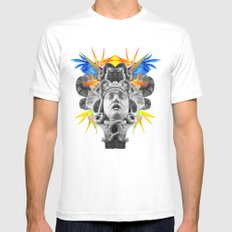 MEDUSA SMALL Mens Fitted Tee White