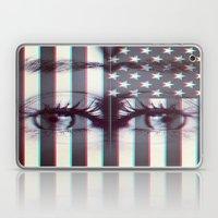 star spangle eyes. Laptop & iPad Skin