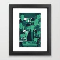 Breaking Bad (green Vers… Framed Art Print