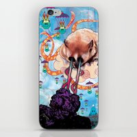 Attack of the Super Furry Animals! iPhone & iPod Skin
