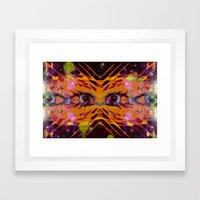 Airplane Lights Framed Art Print
