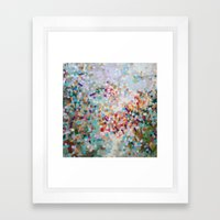 Constellation Darts  Framed Art Print