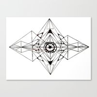 Canvas Print featuring Linear by Isa Gutierrez