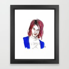 Kurt No,6 Framed Art Print