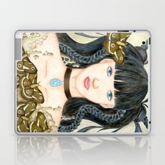 Moth Girl Laptop & iPad Skin