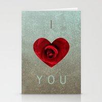 ily Stationery Cards