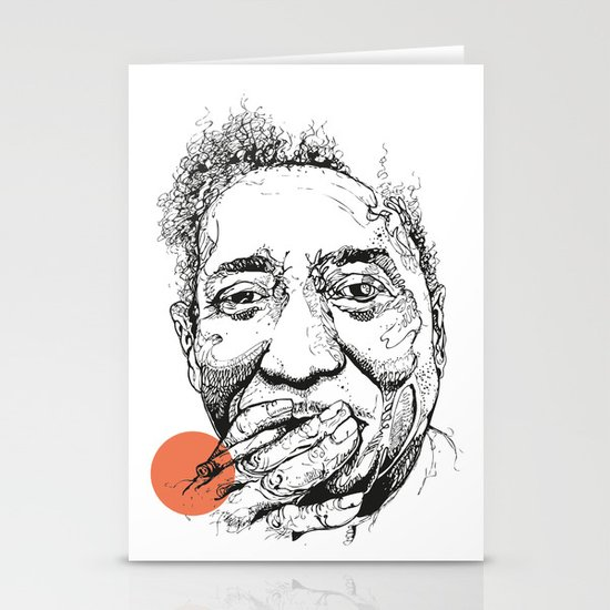 Muddy Waters - Get your mojo! Stationery Card