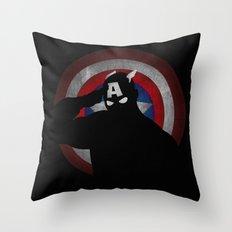 SuperHeroes Shadows : Ca… Throw Pillow