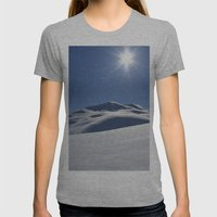 Tincan Peak Womens Fitted Tee Athletic Grey SMALL