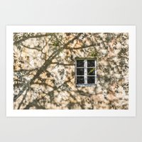 The Window Art Print