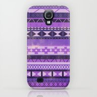Native Spirit (Purple) Galaxy S4 Slim Case