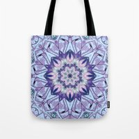 Lavender Meditation Kale… Tote Bag