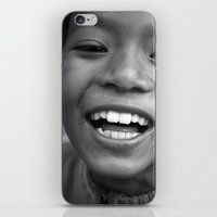 Lukla Children 3 iPhone & iPod Skin
