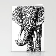 Navajo Elephant Stationery Cards
