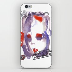 First Class Mail iPhone & iPod Skin