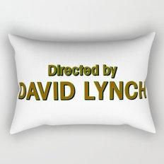 Directed by David Lynch Rectangular Pillow