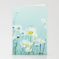 Dancing Daisies Stationery Cards