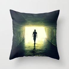 Vacancy Throw Pillow