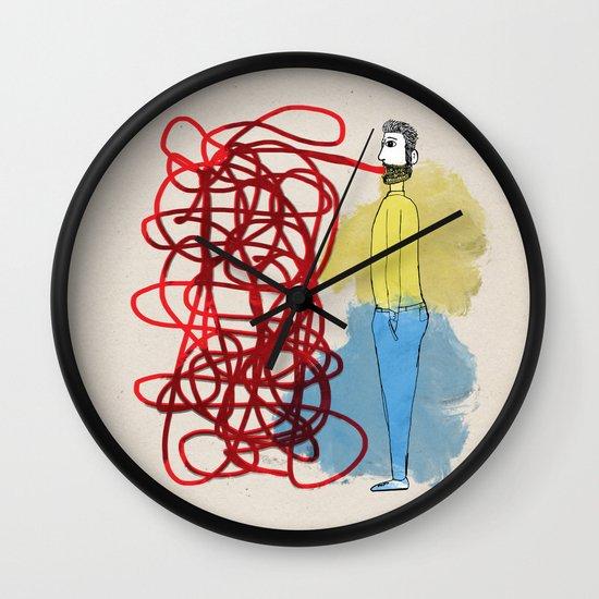 Something hard to say Wall Clock