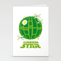 Green Star Stationery Cards