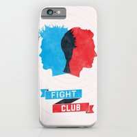 iPhone & iPod Case featuring Fight Club by Bill Pyle