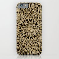 Delicate Golds iPhone 6 Slim Case