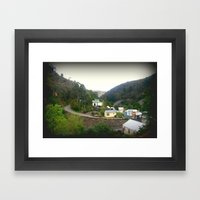 Walhalla - Population - … Framed Art Print