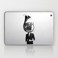 horn player Laptop & iPad Skin