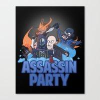 Assassin Party Canvas Print