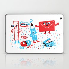 Stationery Friends Laptop & iPad Skin