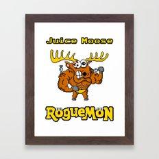 Juice Moose Framed Art Print