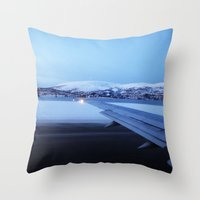 Tromso - Norway Throw Pillow